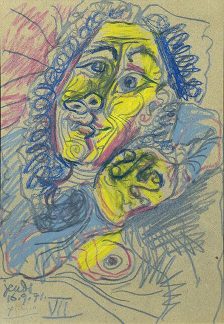 Pablo Picasso, 'Buste de Femme', 1971