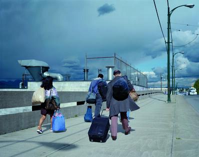 Jeff Wall, 'Overpass', 2001