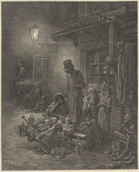 Gustave Doré (artist) and Blanchard Jerrold (author), 'London. A Pilgrimage', 1872