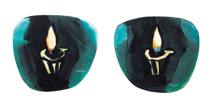 Luis Frangella, 'Untitled (Sunglasses)', 1986
