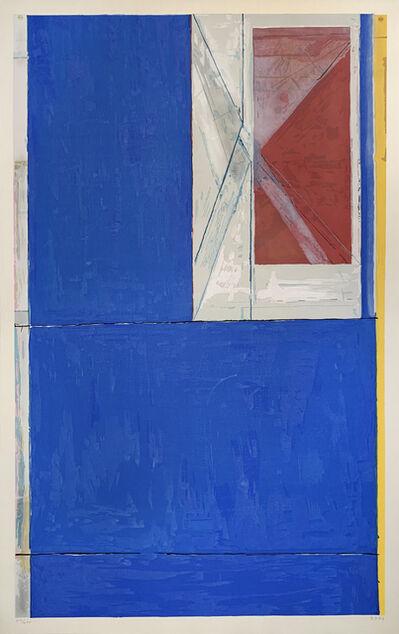 Richard Diebenkorn, 'BLUE', 1984