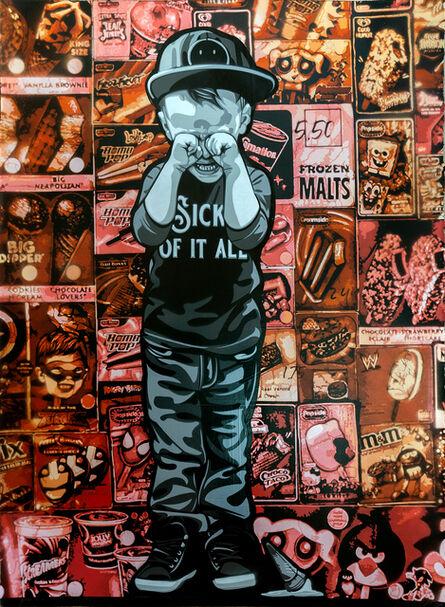 Logan Hicks, 'Sick of it All Collaboration (AP)', 2020