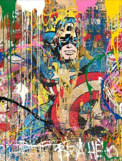 Mr. Brainwash, 'Captain America', 2019