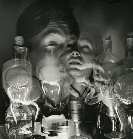 Herbert List, 'Drunk - Intoxication (double exposure), Germany, 1933', 1933