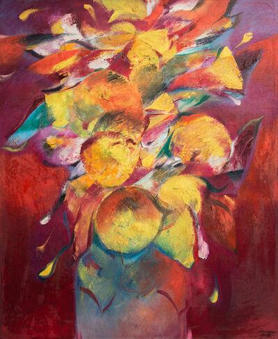 Hoe Koon Yeo, 'Golden Flowers', 2002