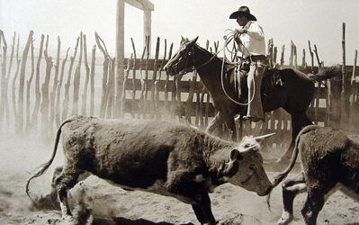 Bank Langmore, 'Untitled (Cowboy on Horseback)', 1973-1975
