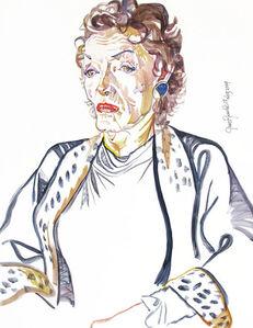Don Bachardy, 'Jane Russell ', 2009