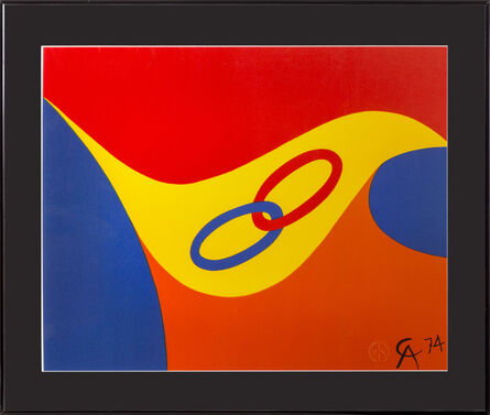 Alexander Calder, 'Flying Colors ', 1974