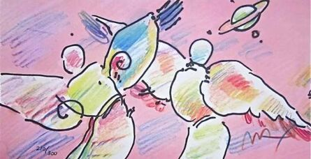 Peter Max, 'Space Angels', 1999