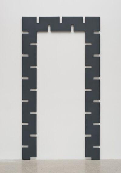 Rosha Yaghmai, 'Gates (graphite)', 2015