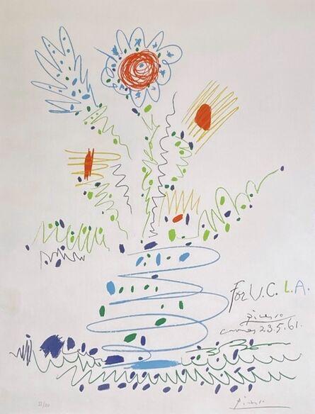 Pablo Picasso, 'Fleurs pour U.C.L.A.', 1961