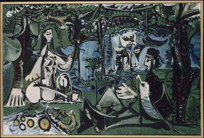 Pablo Picasso, 'Le Déjeuner sur l'herbe d'après Manet (Luncheon on the the Grass, After Manet)', 1960