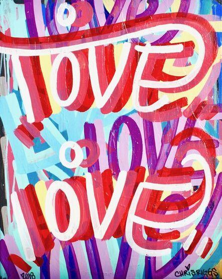 CHRIS RIGGS, 'Love Canvas 7', 2018