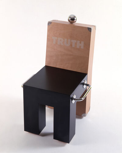 Dan Friedman, 'Truth chair', 1987