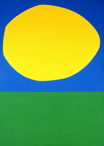 Ellsworth Kelly, 'High Yellow', 1960