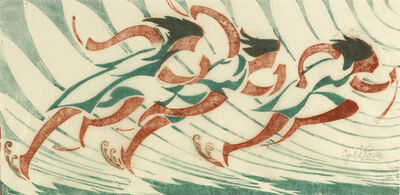 Cyril Power, 'Runners', 1930