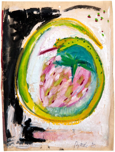 Elvira Bach, 'Gut miteinander Schwelgen', 1980