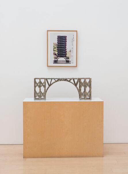 Chris Burden, '1/4 Ton Bridge (Bridge + Static Test Photo)', 1997-2000