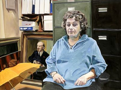 Yevgeniy Fiks, 'Portrait of Esther Moroze (Communist Party USA)', 2007