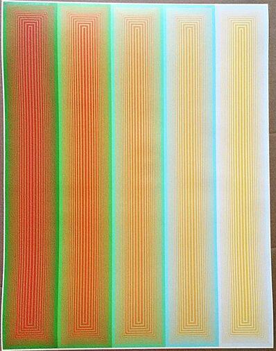 Richard Anuszkiewicz, 'Grandeur (from Inward Eye Series)', 1970