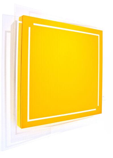 René Ugarte, 'Carré jaune ouvert', 2012