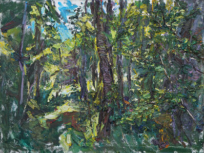 Ulrich Gleiter, 'Greens in a Forest', 2017