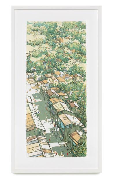 Ong Kim Seng, 'Panorama Ubin (Changing Times: Main street, Ubin series)', 2004