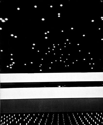 János Szász, 'Movie Hall (Filmszinhaz)', ca. 1970