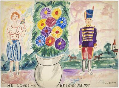 David Burton, 'He Loves Me He Loves Me Not', ca. 1938