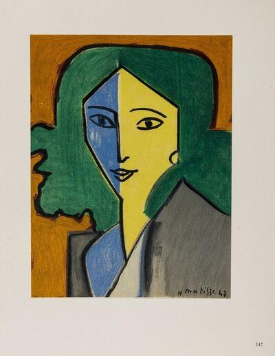 Henri Matisse, 'Portraits (Duthuit 33)', 1954