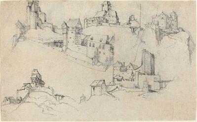 Augustin Hirschvogel, 'Hilltop Castles', ca. 1546