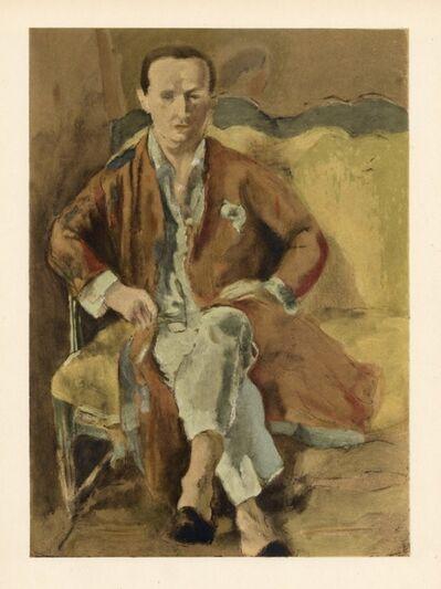 Jules Pascin, 'Portrait de Daragnes', 1928