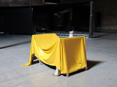PACHI GIUSTINIAN, 'Untitled (Van Gogh Yellow)', 2014