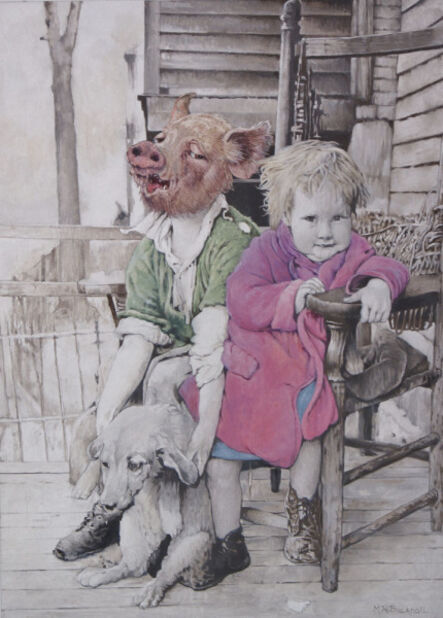 Malcolm Bucknall, 'My Brother is a Pig', 2017