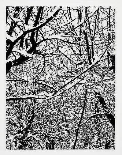 Farhad Moshiri, 'SNOW FOREST 002A', 2017
