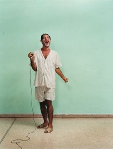 The Late Estate of Broomberg & Chanarin, 'Self-portrait by Oreste, Ren Vallejo Psychiatric Hospital, Cuba', 2003