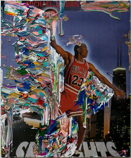 """Devin Troy Strother, 'I got a Kelley Walker all over my MJ's (air walker part.2) """"the problem continues""""', 2014"""