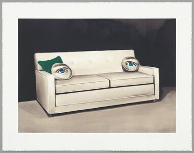 Sean Mellyn, 'King Size Sleeper (Green Eyes)', 2013