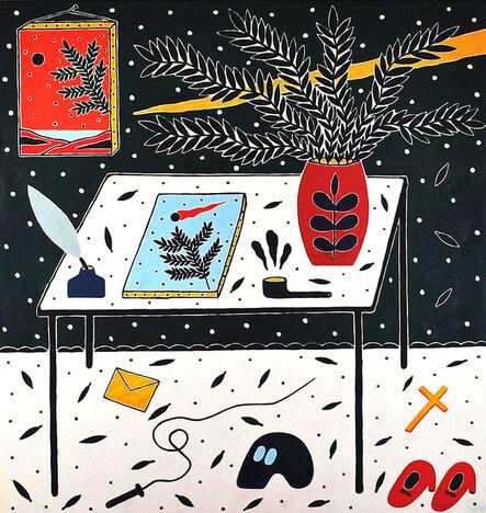 Anders SCRMN Meisner, 'Painters Table', 2020