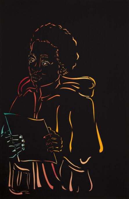 Barbara Earl Thomas, 'Boy with Paper', 2019