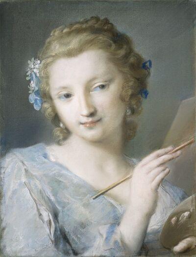 Rosalba Carriera, 'Painting', 1720/1725