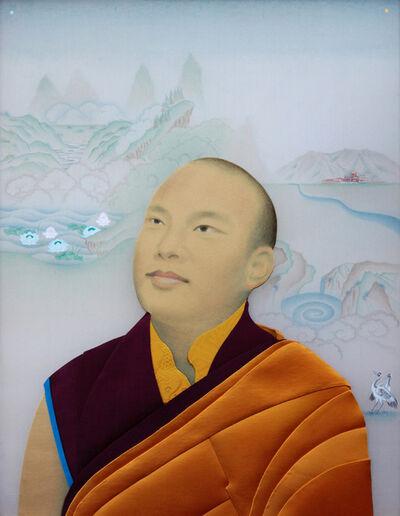 Leslie Nguyen Temple, 'HHKarmapa 尊貴的大寶法王噶瑪巴', 2015