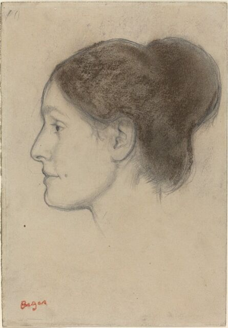 Edgar Degas, 'Hortense Valpinçon', 1883
