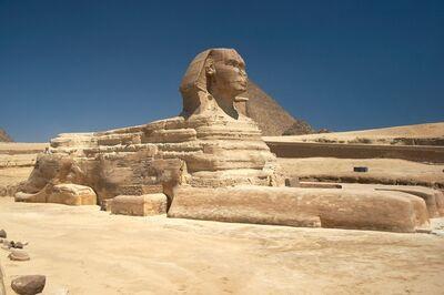 'The Great Sphinx, Giza, Egypt', ca. 2613-2494 B.C.