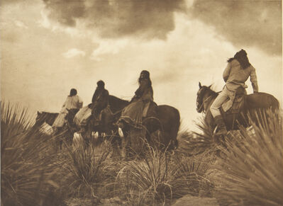 Edward S. Curtis, 'The Storm Apache', 1907-1930
