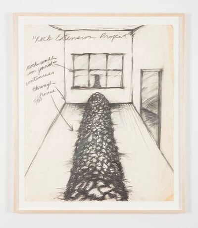 Kate Ericson and Mel Ziegler, 'Untitled (Rock Extension Project)', 1980