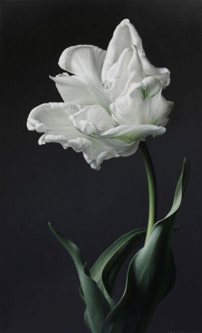 Igor Levashov, 'White Parrot Tulip', 2021
