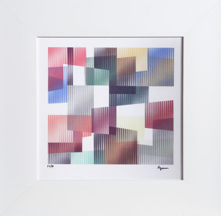 Yaacov Agam, 'Time from the Mobility Within Series', ca. 1990