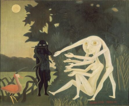 Victor Brauner, 'The Encounter of 2 bis rue Perrel', 1946