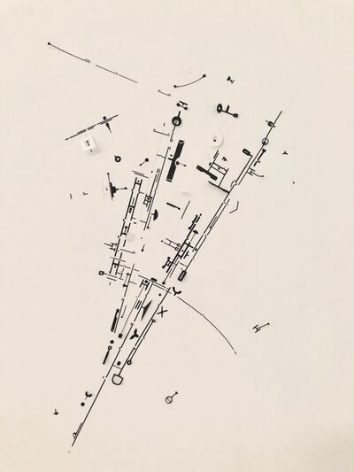 Marco Maggi, 'Paper Drawing (South Mosaic)', 2014